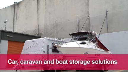 Car, caravan and boat storage solutions