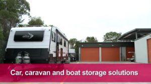 Storing your Caravan